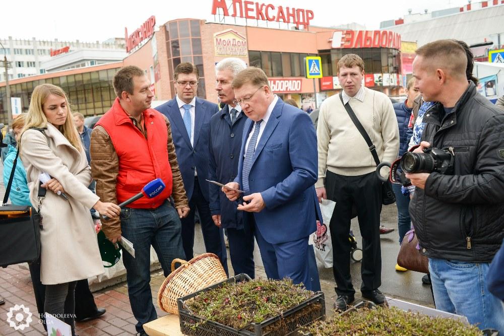 Кооператив Архангельская клюква_Маргаритинская ярмарка 2015 (1)