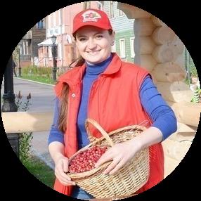 Солдатенкова Мария_представитель СПК Архангельская клюква (2)