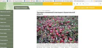"""Статья на сайте Информационного агентства """"Российские лесные вести"""""""
