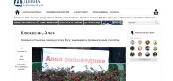 """Газета """"Архангельск"""""""